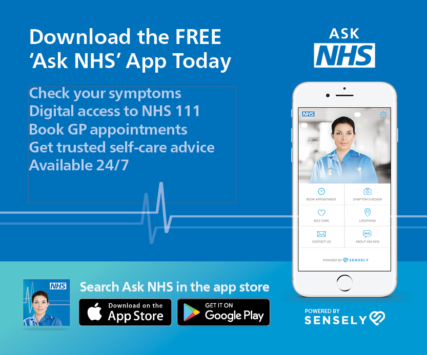 Try the free Ask NHS App